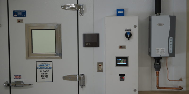 cascade scientific humidity control box panel Commercial Cooling Par Engineering Inc. City of Industry