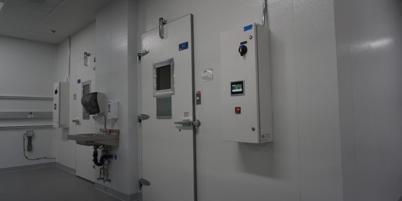 cascade scientific walk-in box clean station angle Commercial Cooling Par Engineering Inc. City of Industry