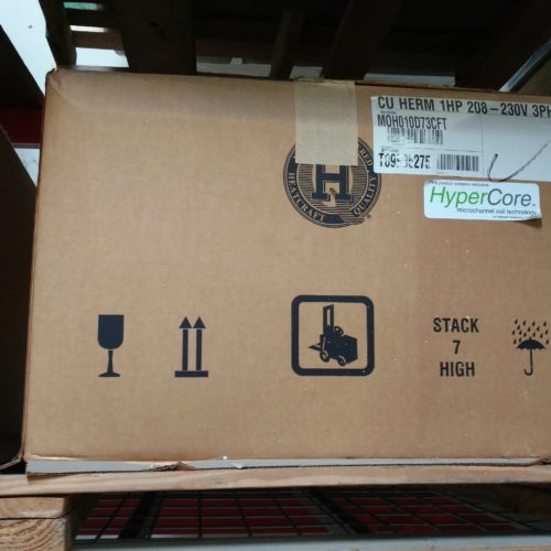 Heatcraft MOH010D73CFT Condensing Unit Commercial Cooling Par Engineering Inc.