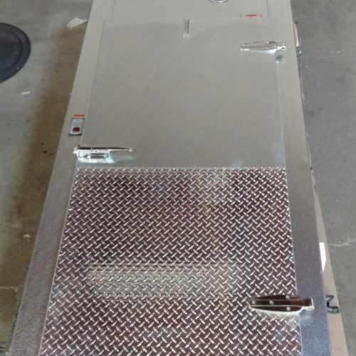 Stainless Steel Door and Frame Commercial Cooling Par Engineering Inc. City of Industry