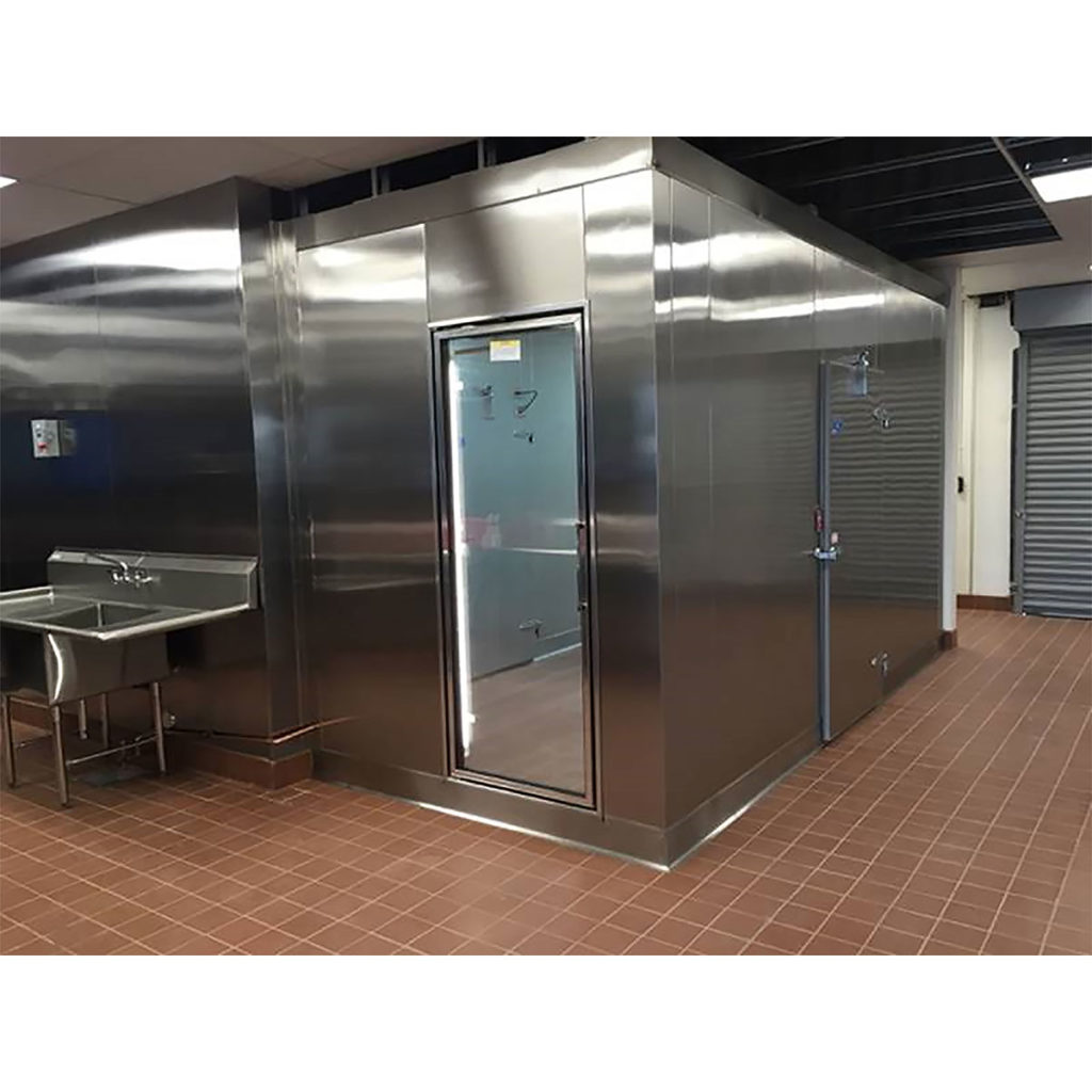 Walk-in Box Combo Cooler and Freezer Commercial Cooling Par Engineering Inc. City of Industry