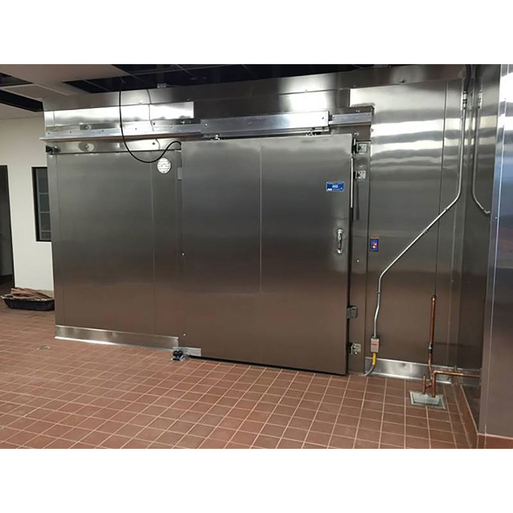 Walk-in Box Combo with Sliding Door Closed Commercial Cooling Par Engineering Inc. City of Industry