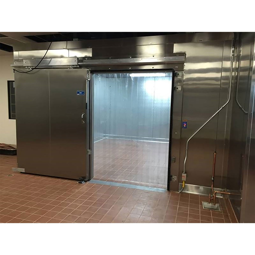 Walk-in Box Combo Freezer Sliding Door Open Commercial Cooling Par Engineering Inc. City of Industry