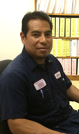 Juan Carlos Moreno Production Manager Commercial Cooling Par Engineering